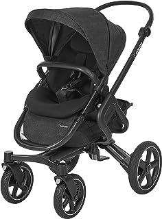 Maxi-Cosi Nova 組合嬰兒車,適合出生至 3.5 歲使用,舒適的戶外/越野嬰兒車。 游牧黑