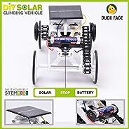 优质 STEM 玩具男孩和女孩 - 4WD 太阳能教育儿童玩具车 - DIY 攀岩车 适合 8 岁以上儿童创意科学工程活动套件