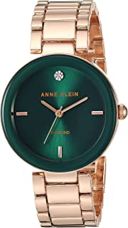 ANNE KLEIN 女士 石英金属正装手表