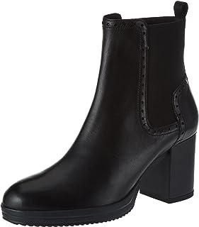 Geox D Remigia F 女士及踝靴