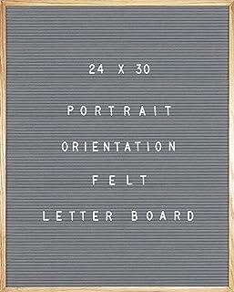 灰色毛毡信板 24 X 30 肖像方向,692 件一组 2.54 厘米和 1.91 厘米字母、符号和表情,36 个槽套装收纳器,刀具,2 个字母袋,2 个锯齿挂钩,发布板