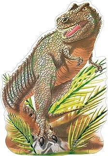 Melissa & Doug T-Rex 恐龍巨型拼圖地板拼圖(48 塊,2 x 3 英尺)