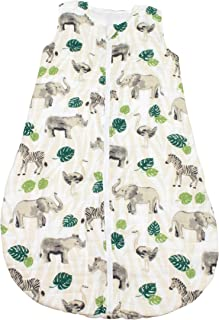 Bebe au Lait 丛林平纹细布睡袋,12-18个月,*,均码