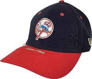 New Era Men's MLB Basic NY Yankees 39Thirty Stretch Back Baseball Cap