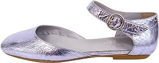 女式 glicine 及踝绑带芭蕾平底鞋