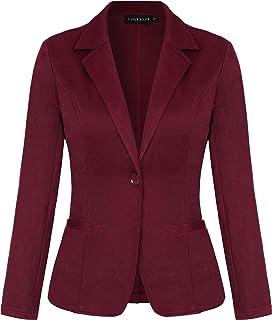 MINTLIMIT 女式休闲长袖开衫工作办公室西装外套带口袋