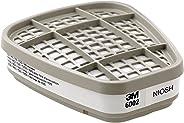 3M 低维护氯化物/氯化氢/硫酸盐面罩