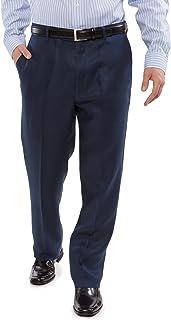 Texere 男式定制亚麻布长裤 - 奢华商务裤 ML1202