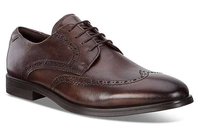 白菜 ECCO 爱步 Melbourne 墨本系列 布洛克风格 男式系带正装鞋 德比鞋 ¥412