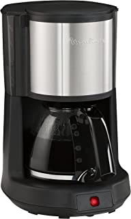 Moulinex FG370811 自由式半自动调动咖啡机 15 CUPS 黑色,不锈钢 咖啡机 - 咖啡机 - 咖啡机(自由式搅拌咖啡机,咖啡机,无钢)