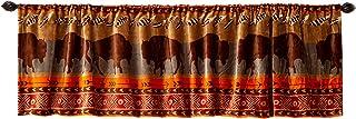 Carstens, Inc. Roaming Bison Valance,棕色