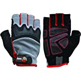 Big Time Products Grease Monkey Pro Fingerless Gloves (X-Large)