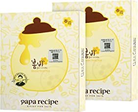 Papa recipe 春雨 蜂蜜面膜25g*10 2盒装(进)(特卖)