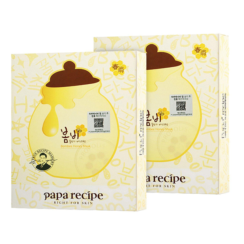 Papa recipe 春雨 蜂蜜面膜25g*10 2盒装