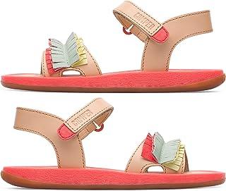 CAMPER 女童 TWS 儿童系带凉鞋