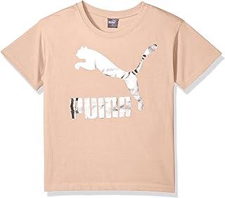 PUMA 彪马 小女童 Archive Lifestyle T恤