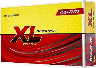 Top-Flite 2019 XL 距离黄色高尔夫球 – 15 只装