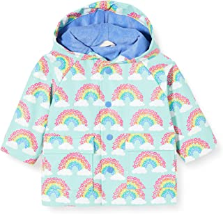Hatley Baby Girls' Raincoat Soft Deers