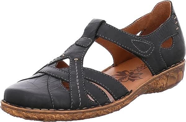 Josef Seibel 女式 Rosalie 29 闭趾凉鞋 黑色(黑色) 4 UK