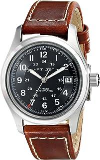 Hamilton 男士 HML-H70455533 Khaki Field 黑色表盘手表