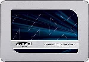 Crucial 英睿达 MX500 2TB 3D NAND SATA 2.5英寸(约6.35cm) 内置固态硬盘 - CT2000MX500SSD1
