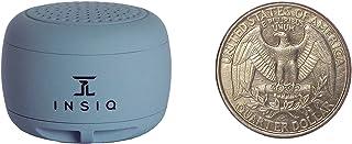 世界上*小的便携式蓝牙音箱 - *的音频质量 - 30 英尺以上范围 - 照片自拍按钮接听电话紧凑兼容*新电话软件 灰色