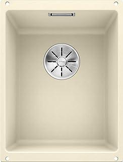 BLANCO 铂浪高 SUBLINE 320-U 523411 厨房水槽,米黄色,320毫米,Beckenbreite