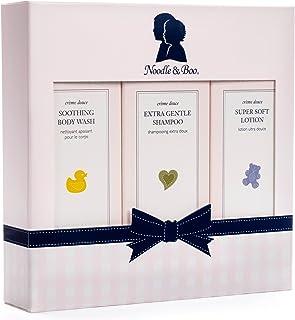 Noodle & Boo 初学者套装,新生儿礼物;超柔软婴儿乳液和新生儿 2 合 1 *和婴儿沐浴露,226.8 克