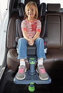 Kneguard 儿童汽车*座椅脚垫 适用于儿童和婴儿 脚踏板与幼儿增高座椅兼容,旅行方便*。 非常适合旅行时携带。 (*新版本)