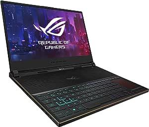 ROG Zephyrus S 超薄游戏笔记本电脑。GX531GW-AB76  Core i7-9750H | RTX 2070 | 512G SSD 15-15.99 inches