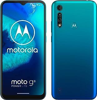 moto g8 power lite Dual-SIM Smartphone (6,5 Zoll-Max vision-HD+-Display, 16-MP-Hauptkamera, 64 GB/4 GB, Android 9) inkl. S...