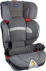 意大利 Chicco 智高  Oasys乐途ISOFIX 儿童汽车安全座椅(灰色) 接口方式: ISOFIX 欧标硬接口 (适合年龄约3-12岁 宽敞舒适  可调头枕高度 可拆卸座套)