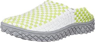 [雷顿豪斯] 全能编织 网眼鞋 弹力运动凉鞋 2WAY懒人鞋