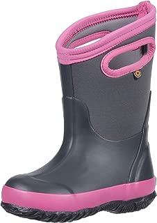 Bogs 儿童经典纯色雪地靴