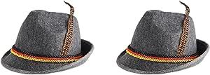 Beistle 缎面时尚帽 灰色 OSFM S60243AZ2