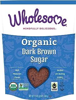 Wholesome 紅糖,公平貿易,1.5 磅(約 680.4 克)(6 包裝)