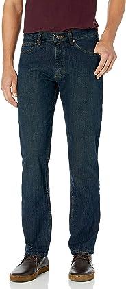 Lee 男士常规直筒牛仔裤