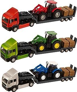 Teamsterz 农场拖拉机 | 儿童玩具汽车农场车辆适合 3 岁以上儿童