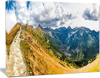 "Design Art Low Tatras Hike Panorama 风景墙艺术油画印刷品,101.6 x 76.2 厘米 20x12"" PT11148-20-12"