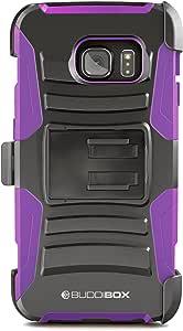GALAXY S7Edge hseries 壳, buddibox 紫色