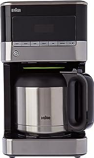 Braun 博朗 kf7125bk 咖啡机 12 个杯子可编程的不锈钢/黑色 1000 W