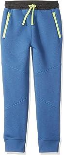 亚马逊品牌 - 斑点斑马男孩幼儿和儿童拉链口袋慢跑裤