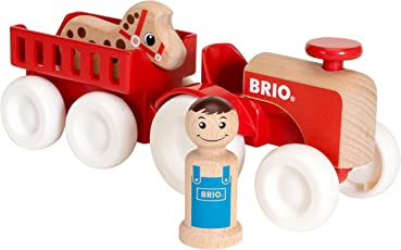 瑞典 BRIO Toddler 农场货车套装 BROC30265
