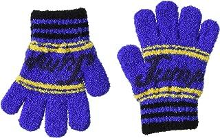 TAKIHIYO 日本制造 棉花糖 手套 333560928 男童 线蓝色 日本 F (FREE サイズ)