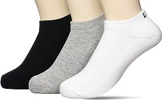 [Lee] 运动鞋用/单色袜子 3双装/男士/25-27cm Lee(李) 混搭A 日本 (Free 尺寸)