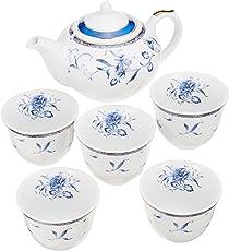 Narumi 鸣海 佩琳蓝色茶具 40721-32714