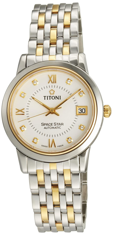 瑞士品牌 titoni 梅花表space star星空系列自动机械男表 83938sy-099图片
