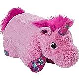 Pillow Pets 彩色粉色独角兽大字符枕头