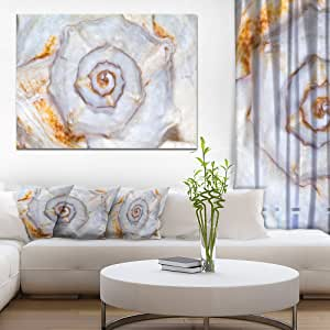 "Designart PT13124-20-12 动物墙壁艺术,白色,50.80 厘米 x 30.48 厘米 白色 40x30"" PT13124-40-30"