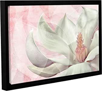 """ArtWall Cora Niele's Focus Track Gallery Wrapped Floater Framed Canvas, 12 by 18"""""""